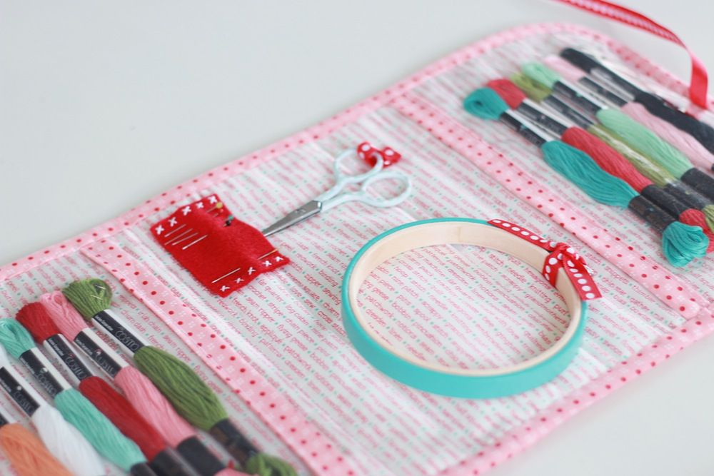 Stitch lovely things organizer bag