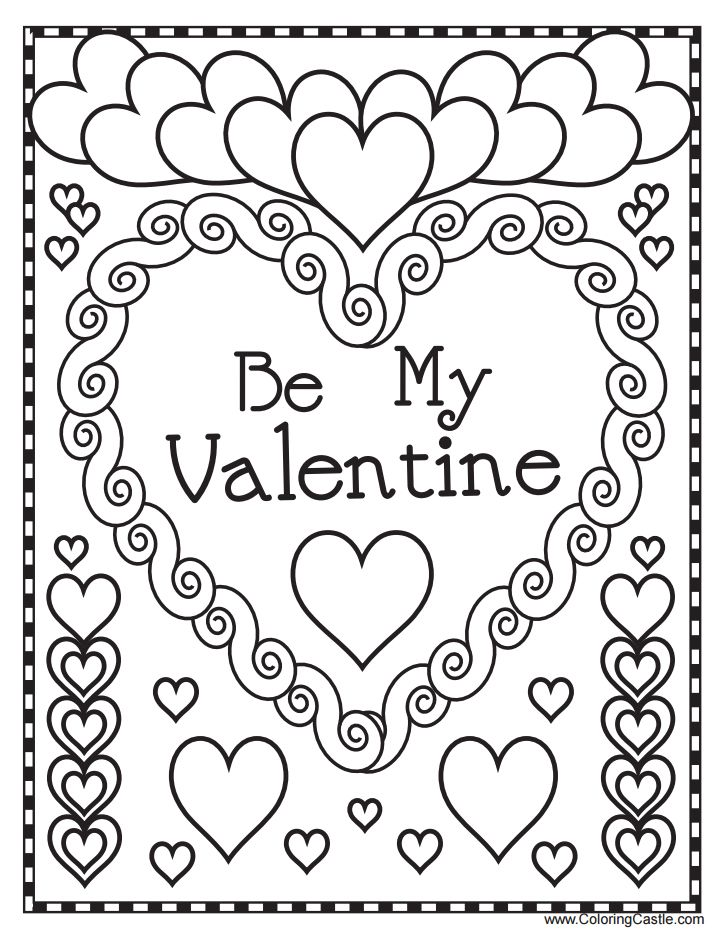 543 Free Printable Valentine S Day Coloring Pages