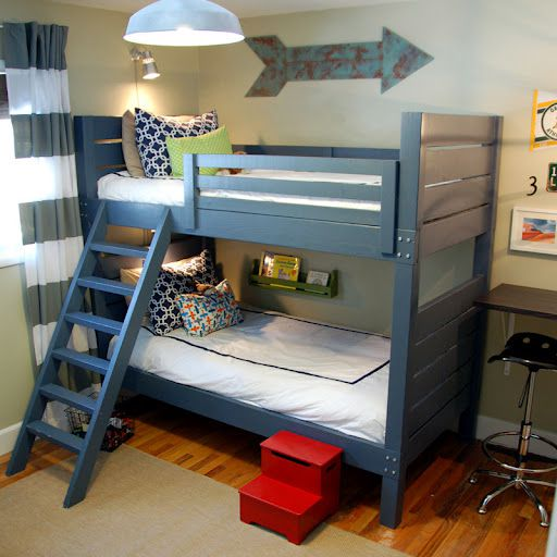 8 Free Diy Bunk Bed Plans You Can Build This Weekend
