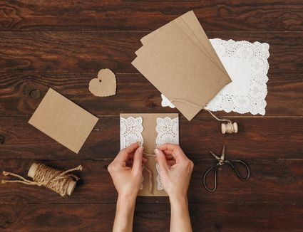 wedding program diy ideas