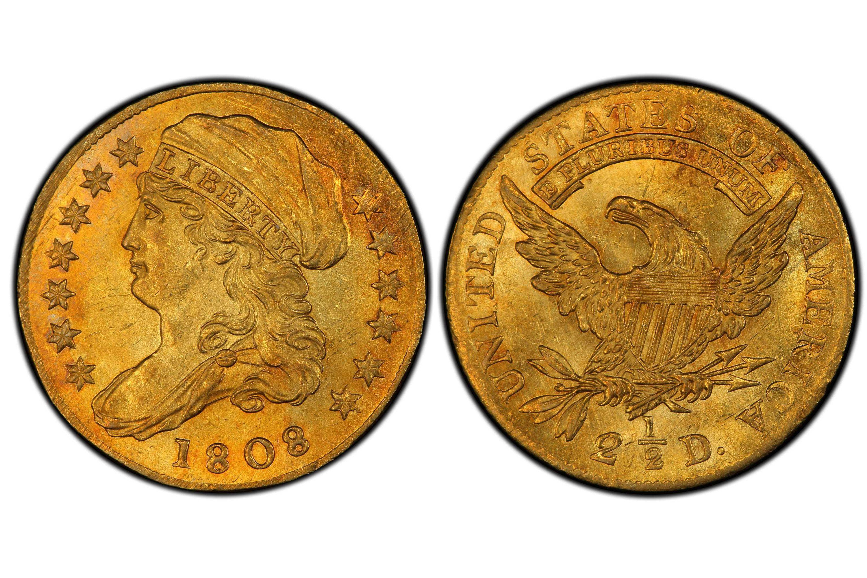 1808 Capped Bust $2.50 Gold Quarter Eagle