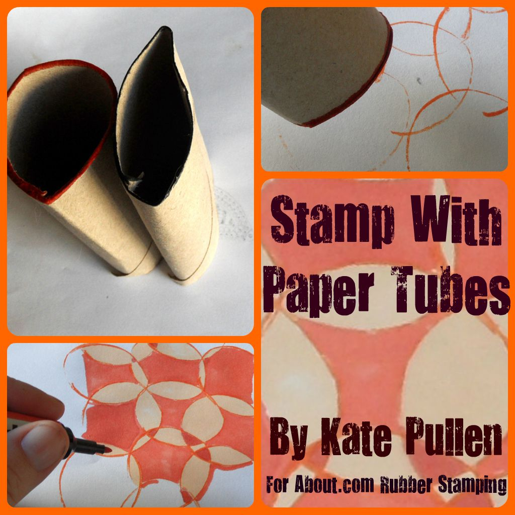 Stamp With Paper Tubes