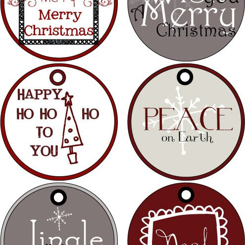 Christmas Gift Tags Handmade.40 Sets Of Free Printable Christmas Gift Tags