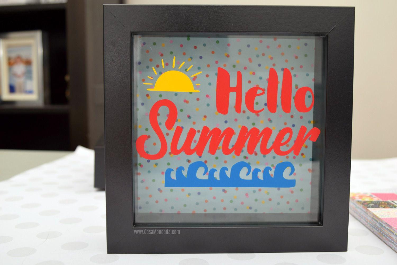 Summer Shadow Box