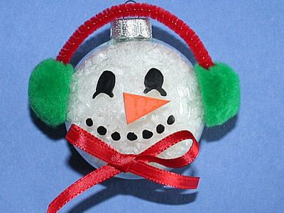 Winter Snowman Crafts For Kids