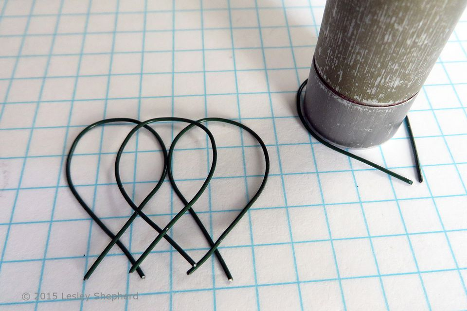 How to Make Wire Garden Fencing / Edging for Fairy / Dollhouse Gardens