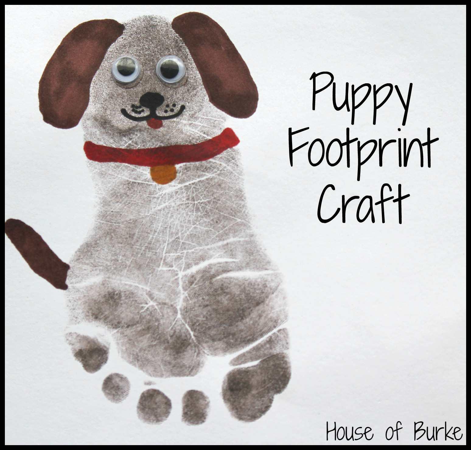 Puppy Print Craft