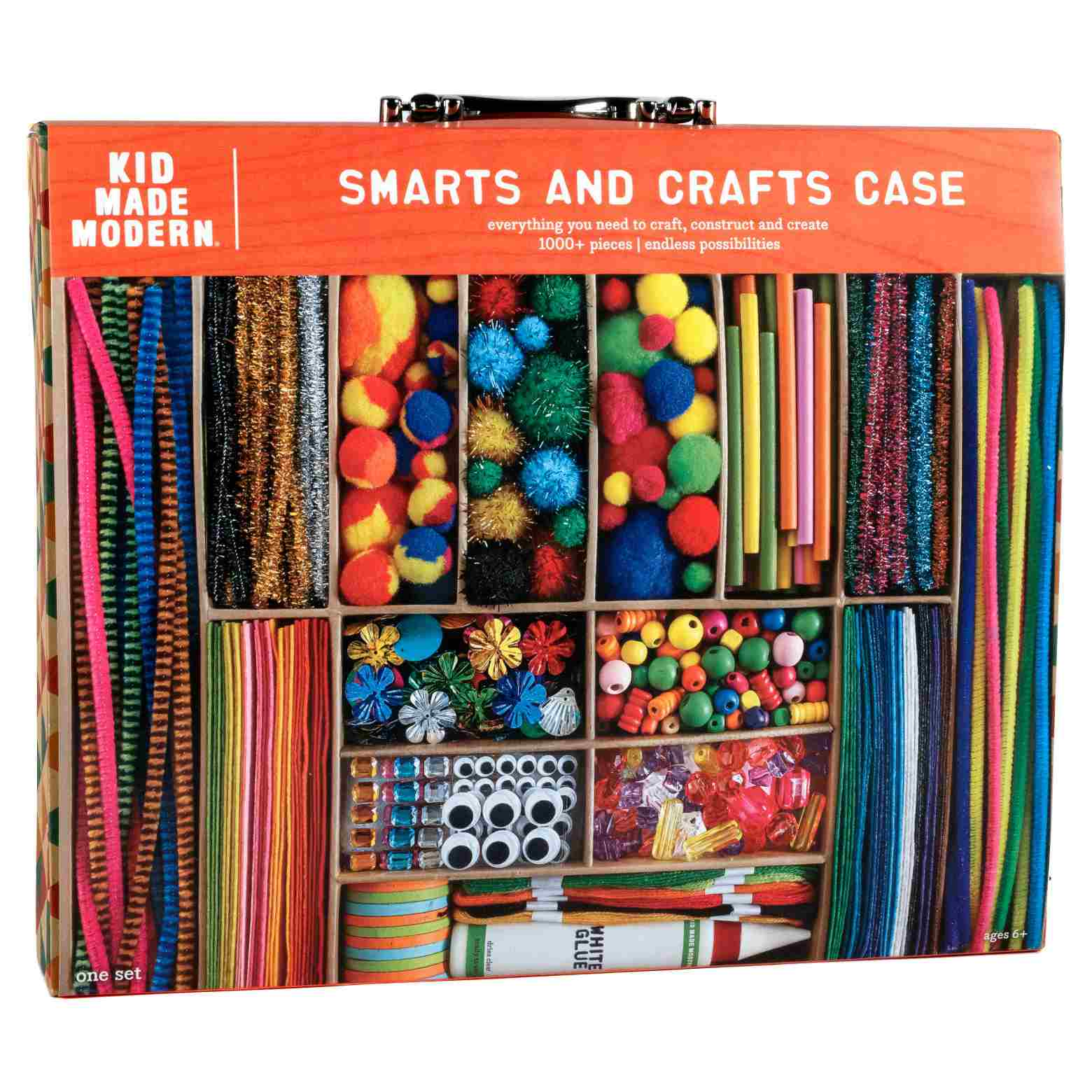 Kid Made Modern® Art Kit - Smarts and Crafts Case