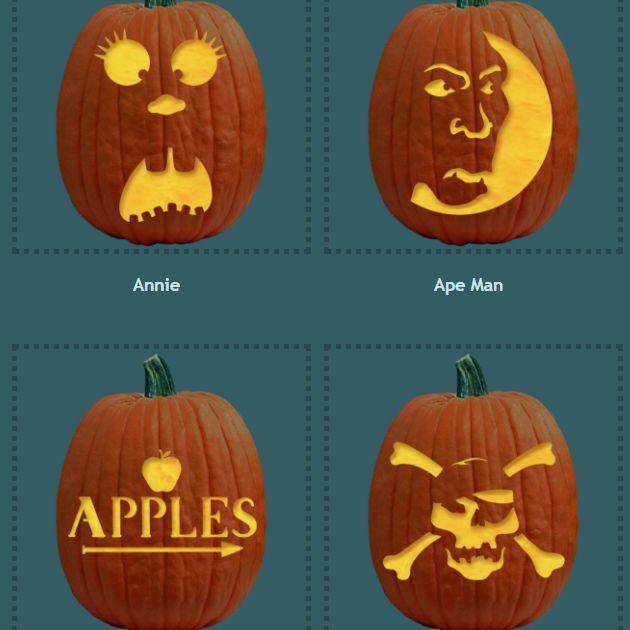 Free Pumpkin Carving Patterns And Templates For Halloween Mesmerizing Jack And Sally Pumpkin Patterns For Free