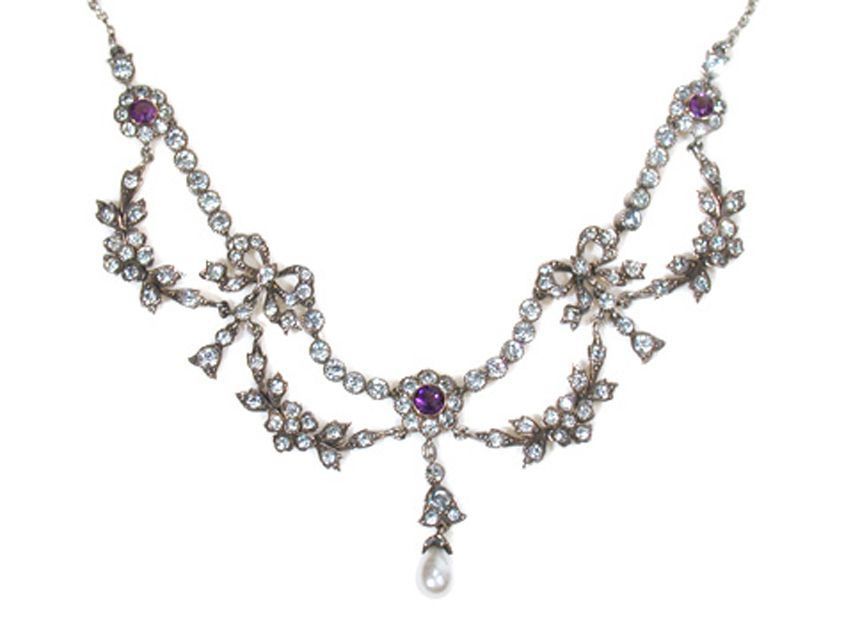 Identifying Antique and Vintage Necklace Styles