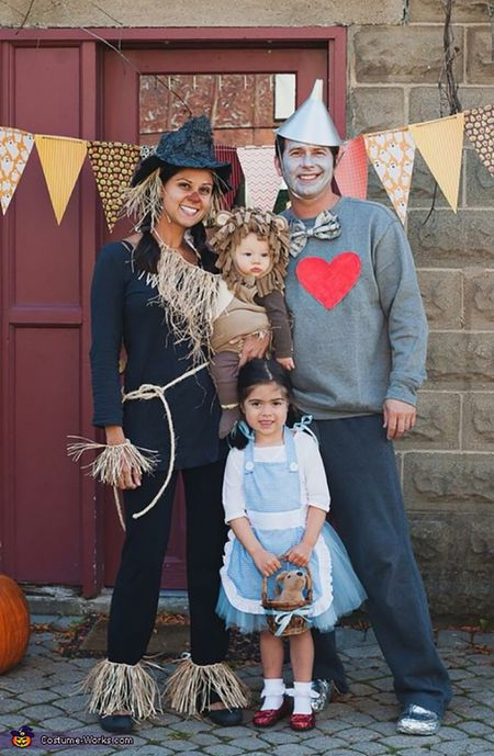 wizard of oz halloween costume family