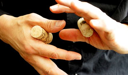 Easy Magic Trick: The Pass Through Corks