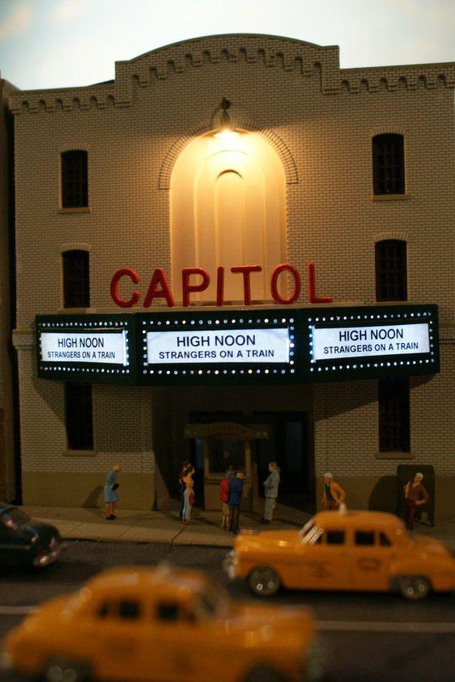 Theatre marquis lights