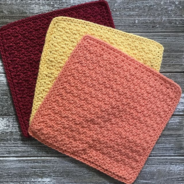 15 Crochet Dishcloth Patterns