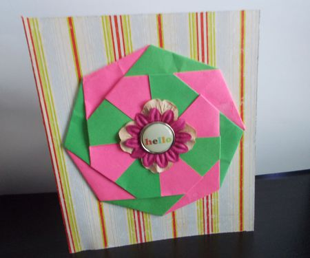 Ten ideas for origami greeting cards origami card m4hsunfo