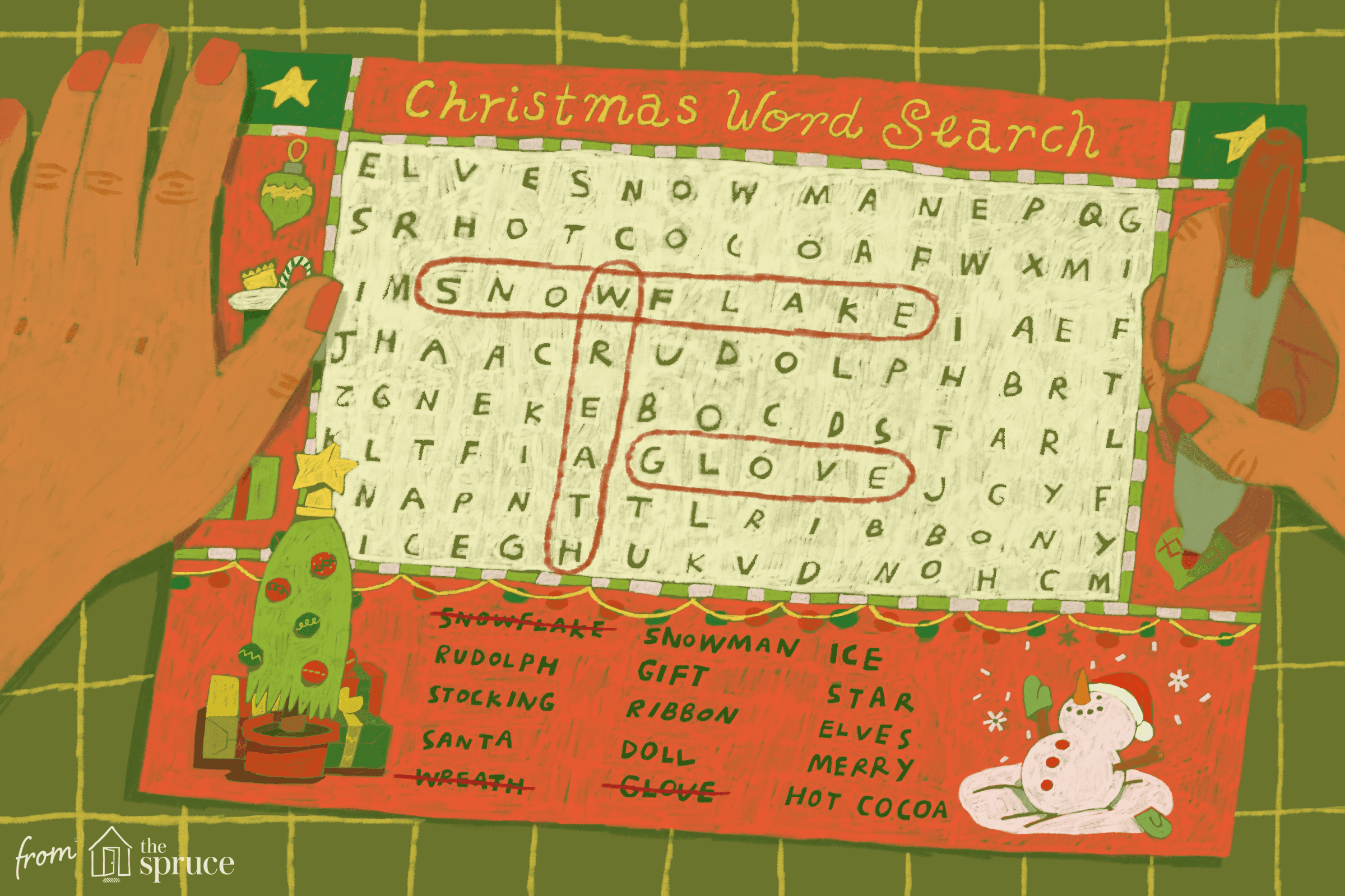 Christmas Word Search Puzzles for Kids