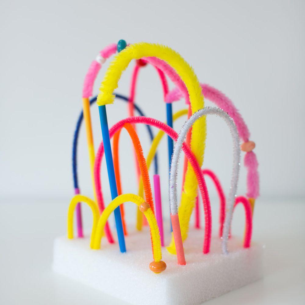 Styrofoam Base Sculpture