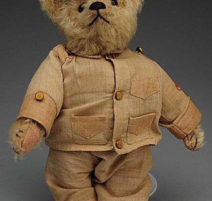 Steiff Mohair 1930s Teddy Bear with Original