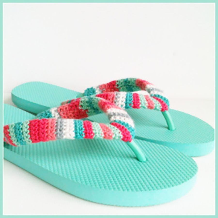 c9fdb5e248537 20 Creative Ways to Make DIY Flip Flops