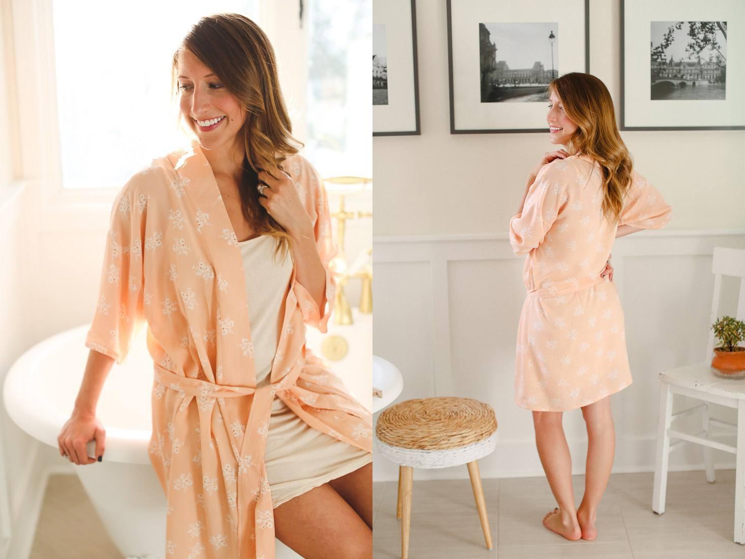 Bath Robe Sewing Pattern