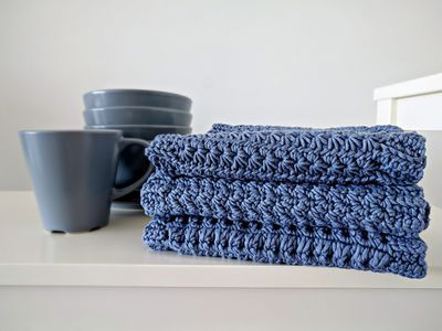 How To Crochet Dishcloths And Washcloths