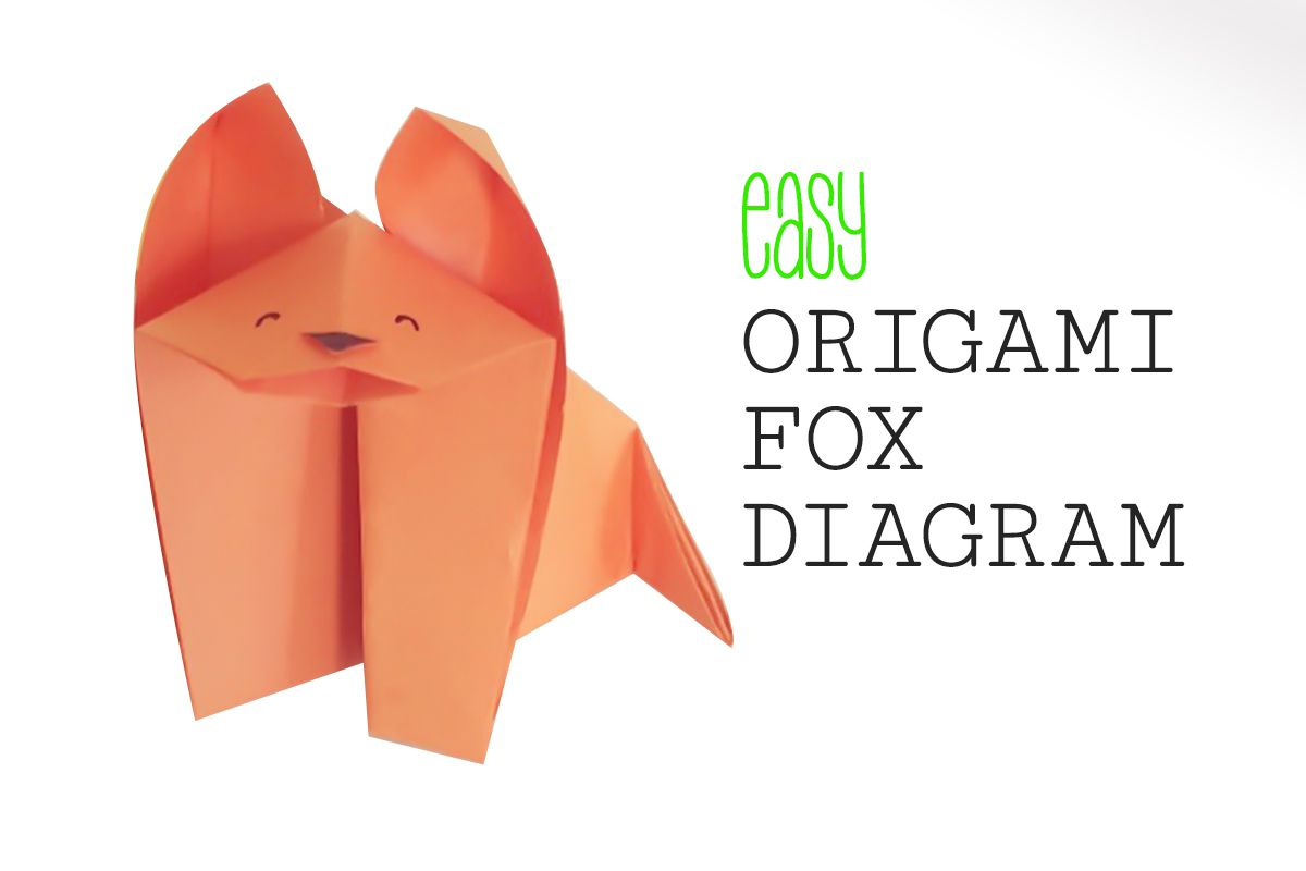 10 Origami Projects For Kids Bear Diagram Easy Fox