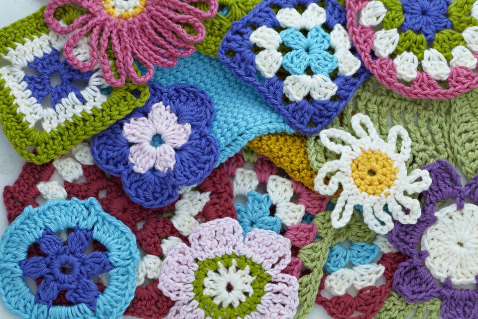 Crochet Flowers and Squares