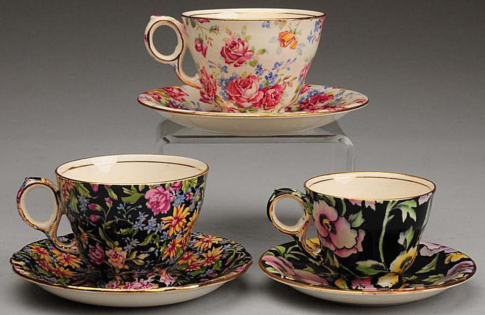 Royal Winton Chintz Cup and Saucer Sets