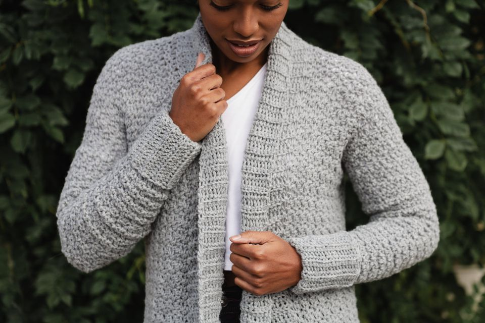 Sweater Weather Cardi Crochet Pattern