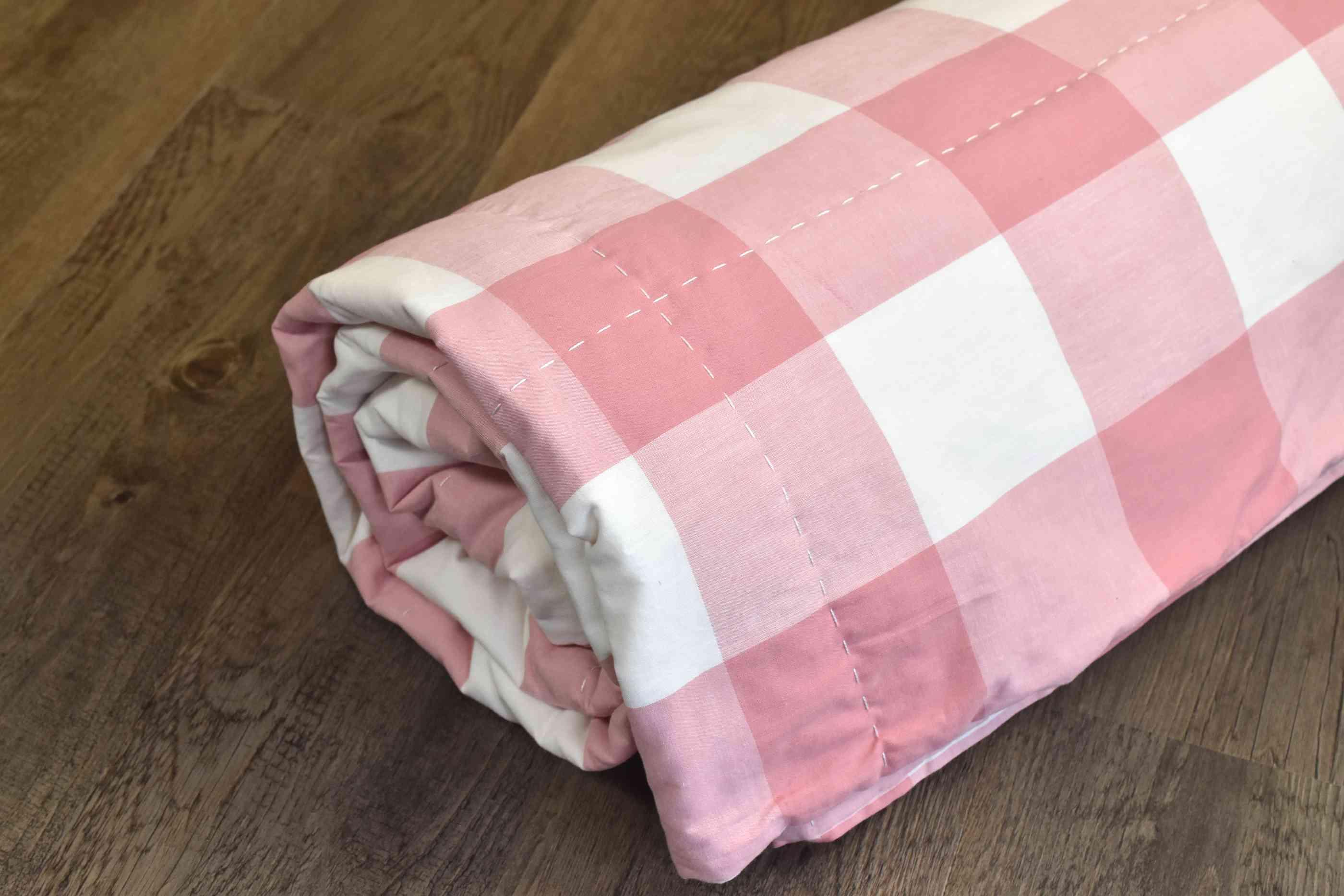 Rolled DIY Comforter
