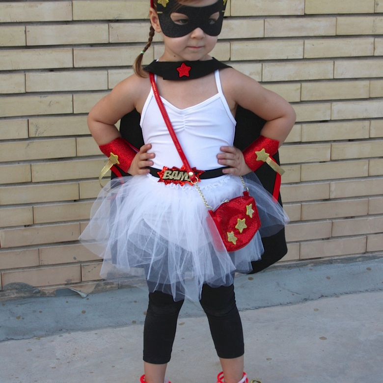super girl no sew halloween costume