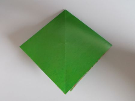 Start Learning Origami By Folding The Square Base