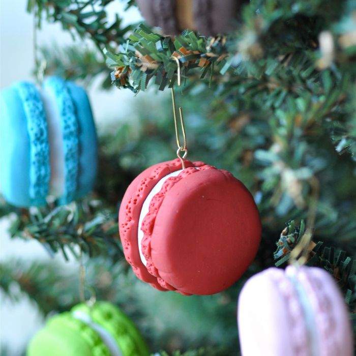 DIY French Macarons Ornament