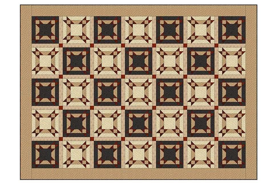 Under the Stars Quilt Pattern