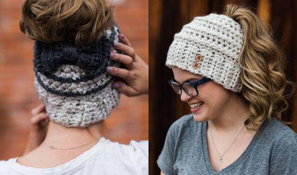 Chelsea Beehive Bun crochet hat
