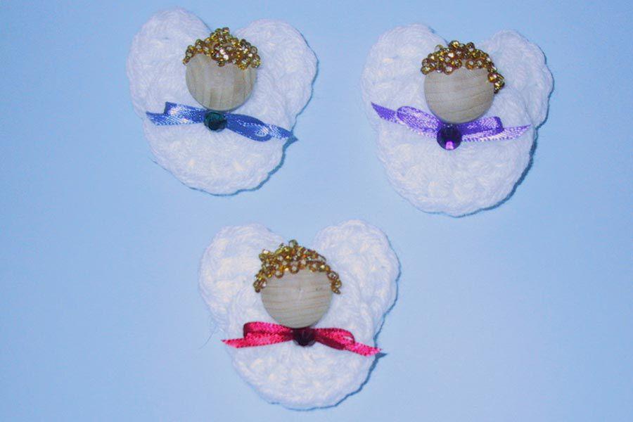 Angel Crochet Pin / Magnet Free Pattern