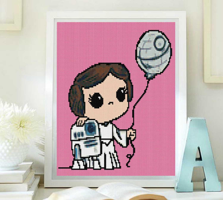 Kawaii Princess Leia