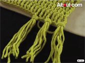 Adding Fringe to a Scarf