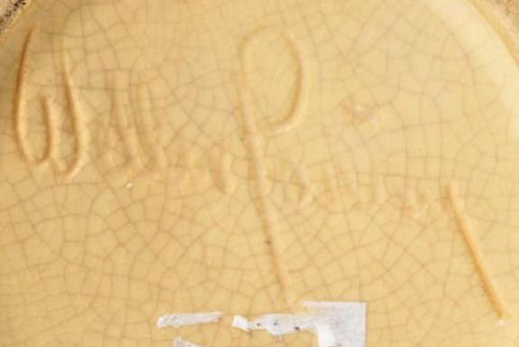 Weller Pottery Incised Mark