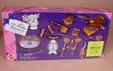 Barbie Pretty Treasures Accessory Set c. 1997
