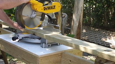 Free Portable Miter Saw Stand Plans