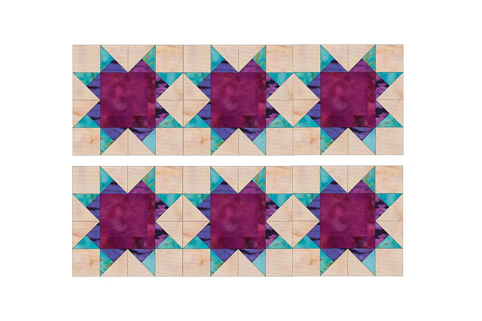 Aunt Addie's Album Quilt Block Pattern