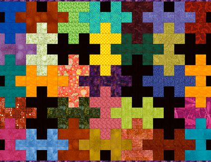 Easy Puzzle Quilt Pattern