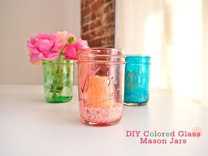 mason jar dollar store crafts
