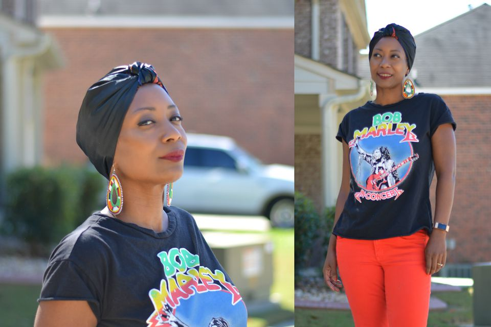 Reversible Turban Sewing Pattern