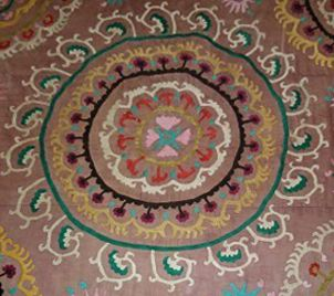 An Antique Suzani Motif