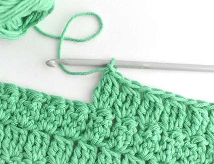How to Make a Treble Crochet Cluster