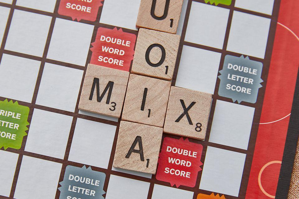 Scrabble three letter X word