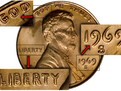 1955 Double Die Lincoln Penny