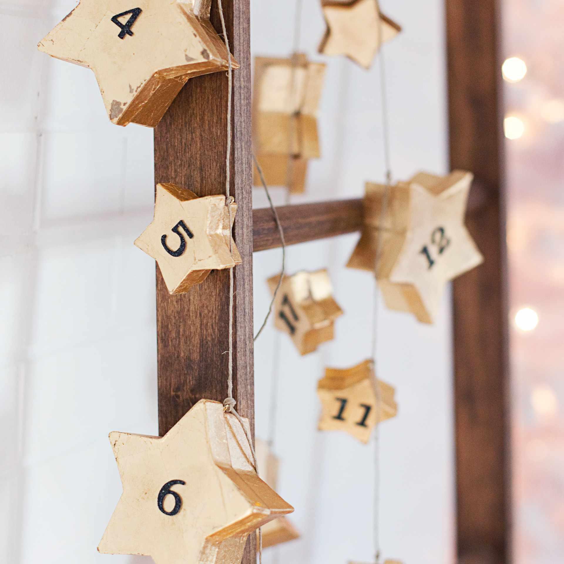 Sar garland Advent calendar